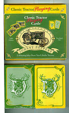 "Two Sealed Decks Playing Cards ""Classic Tractor"", USA 1996 Non-Standard"