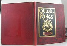 PRINCESS HESSE SCHWARTZBOURG Queens and Kings and Other Things FIRST ED 1880