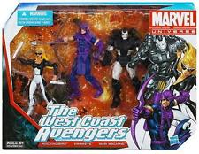 WEST COAST AVENGERS ( 2012 ) HAWKEYE, WAR MACHINE MARVEL UNIVERSE ACTION FIGURES