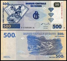Congo Dem. Rep. 500 Francs 2002 UNC**New Printered G&D