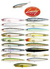 """LUCKY CRAFT GUNFISH 75 TOPWATER BAIT 2.9"""" select colors"""