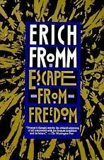 NEW - Escape from Freedom by Fromm, Erich