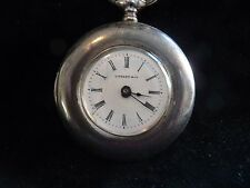 TIFFANY & CO STERLING SILVER POCKET WATCH