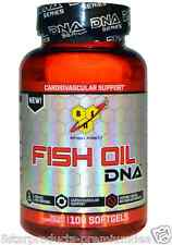 NEW BSN FISH OIL DNA CARDIOVASCULAR SUPPORT OMEGA 3 6 9 SUPPLEMENT 100 SOFTGELS