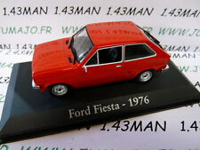 car 1/43 RBA Italy IXO : FORD Fiesta 1976 red