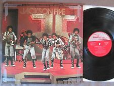 MICHAEL JACKSON-JACKSON FIVE Super Deluxe JAPAN-ONLY LP w/Laminated PS SWX-10107