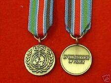 Quality UN Bosnia Miniature Medal ( Military Medals ) Miniature medals