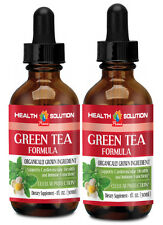 Green Tea Formula Drops Cardiovascular Health and Immune System (2 Bottles)