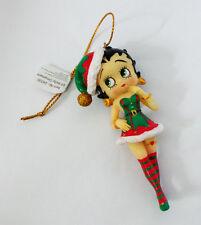 Betty Boop - betty Elf Sapin De Noël/Décoration À Suspendre, 8.9cm (24035)