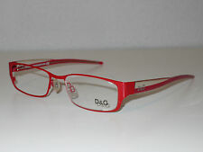 MONTATURA PER OCCHIALI NUOVA New Eyeframe D&G Outlet -50%, Unisex, Rossi