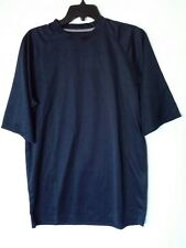 WILLOW POINTE BLUE MEN SHIRT SIZE MEDIUM NEW WITH TAGS 100% POLYESTER WASH COLD