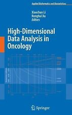 High-Dimensional Data Analysis in Cancer Research (2008, Hardcover)