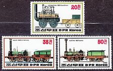 KOREA Pn. 1983 MNH** SC#2307/09 set,  Steam Locomotives.