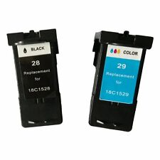 Reman Ink Cartridge for Lexmark 28/29 use in Lexmark X5495(Black/Tri-color)