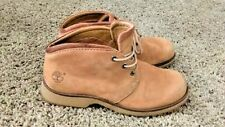 Women's Timberland Boots Comfort Genuine Leather Upper US Size 8M Cotton Linning