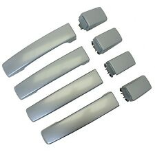 Titanium Silver DOOR HANDLE skins Range Rover Sport 05-09 clip on covers Zermatt