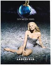 PUBLICITE  1997   LAGERFELD KARL  le nouveau parfum   SUN MOON STAR