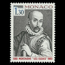 Monaco 1980 - Publication of Montaigne's Essays - Sc 1230 MNH