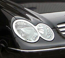 MERCEDES CLK W209 Chrome Headlight Trim