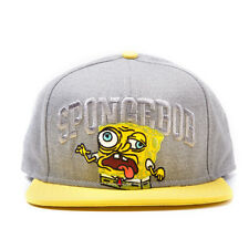 COOL SPONGEBOB SQUAREPANTS ZOMBIE STYLED/ OUT OF HIS MIND SNAPBACK CAP (NEW)