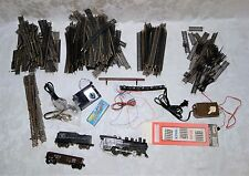 Vintage Atlas HO Scale Train Set With Loco, Cars, Track, Power Pack, and More