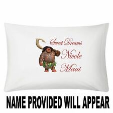 Personalized Maui of Moana Pillowcase