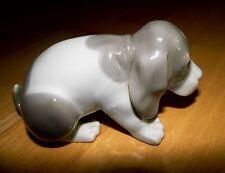 LLadro Porzellan Figur: Sad Puppy , trauriger Hund Handarbeit Spanien