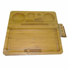RAW Rolling Papers Bamboo Tray - Premium Wood Tray from SMO-KING