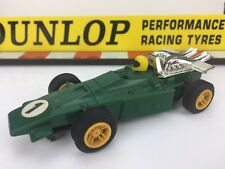 Scalextric Vintage Car C20 Green Dart Race No1 Slot Car