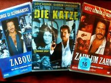 Götz George SCHIMANSKI - TATORT Die Katze ZAHN UM ZAHN  Zabou 3 DVD Collection