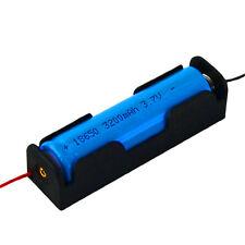 5Pcs Batteriehalter Boxen Batterie Halter Halterung Box für 1x 18650 Akku SN