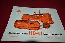 Allis Chalmers HD-11 Crawler Tractor Dealers Brochure YABE11 VER92
