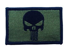 PUNISHER  EMROIDERED MILITARY 3.0 INCH HOOK PATCH