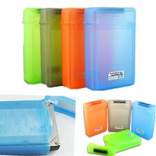 3.5'' Hard Drive Disk HDD Case SATA IDE Plastic Storage Container Enclosure Box