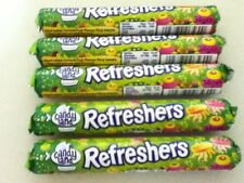 5 TUBES OF BARRATT/CANDYLAND, REFRESHERS SWEETS - RETRO BRITISH SWEETS
