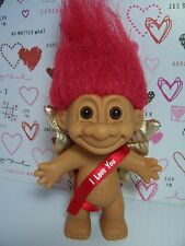 "VALENTINE I LOVE YOU CUPID-  5"" Russ Troll Doll - NEW IN ORIGINAL BAG"