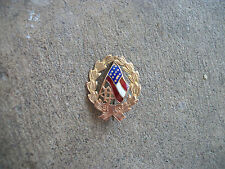 1898 United Daughters of the Confederacy UDC gold membership medal pin #2