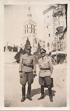 Org. foto: Wehrmacht Portrait ufficiali molti Orden pistola südfront Italia