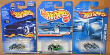Hot Wheels Go Kart x3, 1998 First Editions, 2007 All Stars, 2002 #198 Yellow