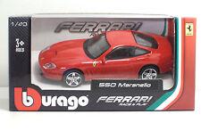 Bburago 36000 FERRARI 550 Maranello - METAL 1:43 Race&Play