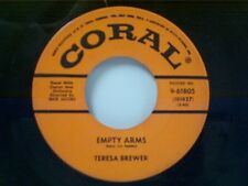 "TERESA BREWER ""EMPTY ARMS / THE RICKY-TICK SONG"" 45"