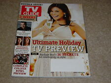 RACHEL RAY * ULTIMATE HOLIDAY PREVIEW * CSI December 2006 2007 TV GUIDE MAGAZINE