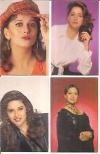 PICTURE POST CARD - BOLLYWOOD ACTRESS - MADHURI DIXIT - 12 IN 1 LOT