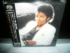 MICHAEL JACKSON THRILLER JAPAN SACD OBI 3675yen ESGA 1ST PRESS