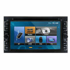 """Double 2Din 6.2"""" Car DVD CD MP3 Player HD Touch In Dash Stereo BT Ipod TV Radio"""