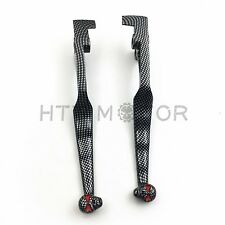 Carbon Skull Brake Clutch Levers For Kawasaki Vulcan 1500 1600 VN1500 VN1600