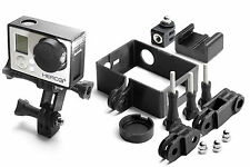 Frame Mount Set for GoPro Go Pro HD HERO 3+ Black Tripod Accessories 10 pieces