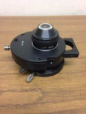 American Optical AO 1248 Phase Contrast Condenser and 1238 lens