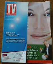 FRENCH TEXT TV GUIDE LISTINGS MAGAZINE 2008