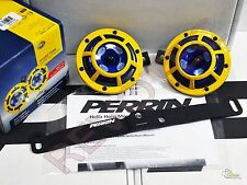 Perrin Mounting Bracket & Yellow Hella Supertone Horn For 15-17 WRX/ STi